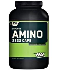 Optimum Nutrition Superior Amino 2222 Caps (150 капсул)