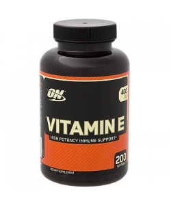 Optimum Nutrition VITAMIN E 400IU (200 капсул, 200 порций)