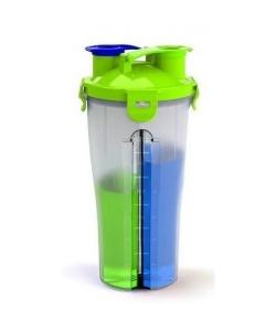 Optimum Шейкер Dual Shaker (двухсекционный) (800 мл)