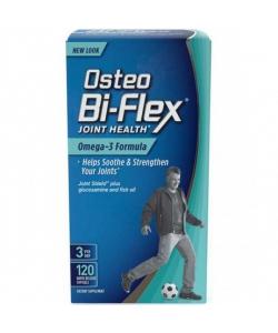 Osteo Bi-Flex Omega-3 Fotmula (120 капсул, 40 порций)