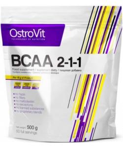 OstroVit BCAA 2-1-1 (500 грамм, 50 порций)
