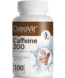OstroVit Caffeine 200 mg (100 таблеток, 100 порций)