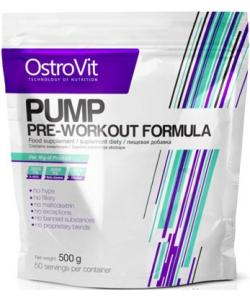 OstroVit PUMP Pre-Workout Formula (500 грамм)