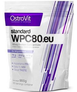 Ostrovit Standard WPC80.EU (900 грамм)