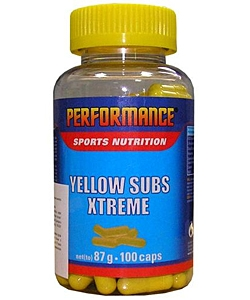 Performance Yellow Subs Xtreme (100 капсул, 50 порций)
