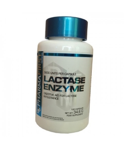 Pharma First Lactase Enzyme (100 капсул, 100 порций)