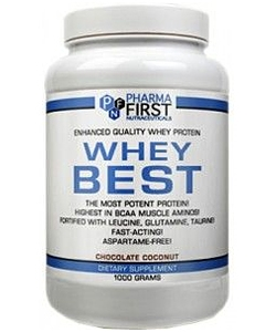 Pharma First Whey Best (1000 грамм)
