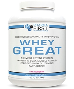 Pharma First Whey Great (2270 грамм)