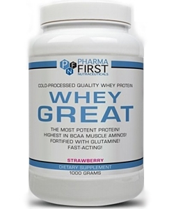 Pharma First Whey Great (1000 грамм)