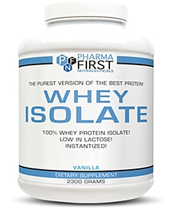 Pharma First Whey Isolate (2300 грамм)