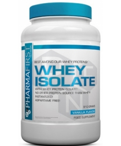 Pharma First Whey Isolate (910 грамм, 35 порций)