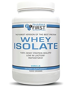 Pharma First Whey Isolate (1000 грамм)