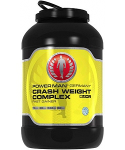 Power Man Crash Weight Complex (4000 грамм, 53 порции)