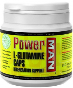 Power Man L-Glutamine Caps (200 капсул, 40 порций)