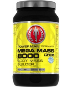 Power Man Mega Mass 8000 (4000 грамм, 53 порции)