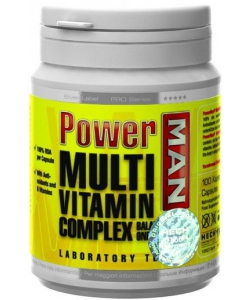 Power Man Multi Vitamin Complex (100 капсул, 100 порций)