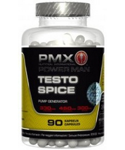 Power Man PMX Testo Spice (90 капсул, 30 порций)