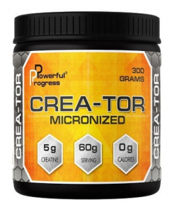 Powerful Progress Crea-Tor Micronized (300 грамм, 60 порций)