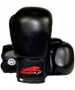 PowerPlay Боксерские перчатки  3004 Black