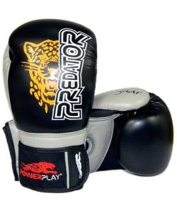 PowerPlay Боксерские перчатки  3008 Jaguar Black