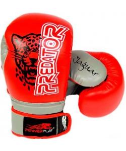 PowerPlay  Боксерские перчатки 3008 Jaguar Red