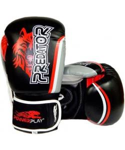 PowerPlay Боксерские перчатки PowerPlay 3005 Wolf Black