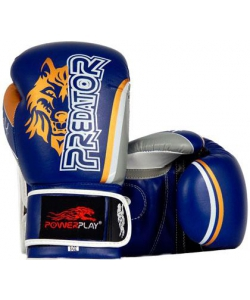 PowerPlay Боксерские перчатки PowerPlay 3005 Wolf Blue