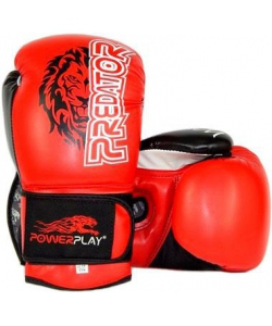 PowerPlay Боксерские перчатки PowerPlay 3006 Lion Red