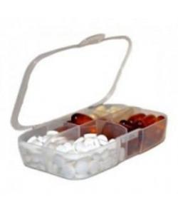 PowerPlay Таблетница Pill Master boxes / прозрачный