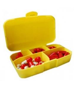 PowerPlay Таблетница Pill Master boxes / желтый