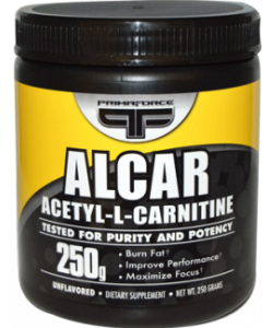 PrimaForce ALCAR Acetyl-L-Carnitine (250 грамм)