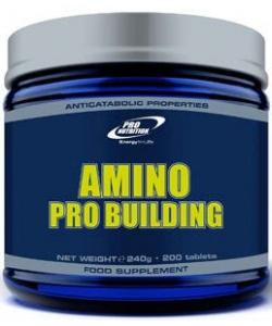 Pro Nutrition Amino Pro Building (200 таблеток, 66 порций)