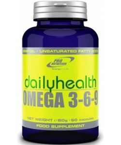 Pro Nutrition Dailyhealth Omega 3-6-9 (60 капсул, 20 порций)