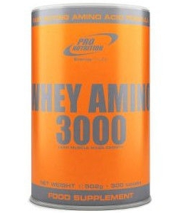 Pro Nutrition Whey Amino 3000 (120 таблеток, 40 порций)