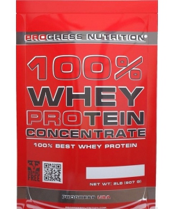 Progress Nutrition 100% Whey Protein Concentrate (907 грамм, 30 порций)