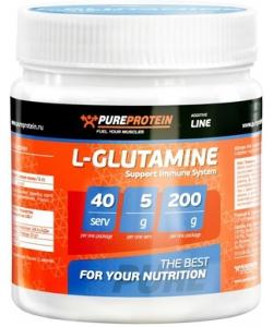 PureProtein L-Glutamine (200 грамм)