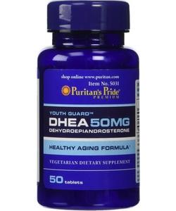 Puritain's Pride DHEA 50 mg (50 таблеток, 50 порций)