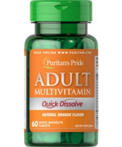 Puritan's Pride Adult Multivitamin (60 таблеток, 60 порций)