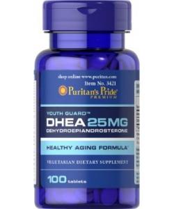 Puritan's Pride DHEA 25 mg (100 таблеток, 100 порций)