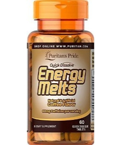 Puritan's Pride Energy Melts (60 таблеток, 30 порций)