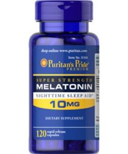 Puritan's Pride Melatonin 10 mg (120 капсул, 120 порций)