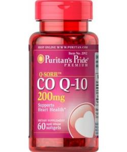 Puritan's Pride Q-Sorb Co Q-10 200 mg (60 капсул)