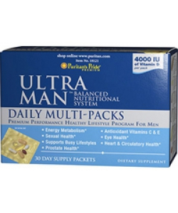 Puritan's Pride Ultra Man Daily Multi-Packs (30 пак., 30 порций)