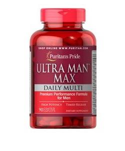 Puritan's Pride Ultra Man Max (90 капсул, 45 порций)
