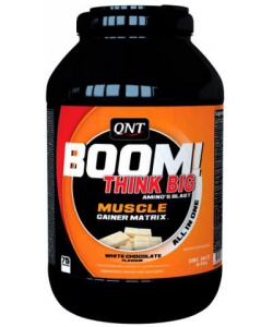 QNT Boom! Muscle Gainer (3000 грамм, 75 порций)