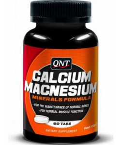 QNT Calcium Magnesium (60 таблеток, 60 порций)