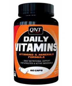 QNT Daily Vitamins (60 капсул, 60 порций)