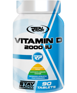 Real Pharm Vitamin D 2000 IU (90 таблеток)