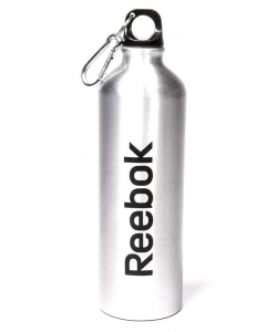Reebok Water Bottle Al 75cl Carabiner