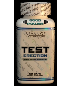 REVANGE HARDCORE  TEST ERECTION (60 капсул, 60 порций)